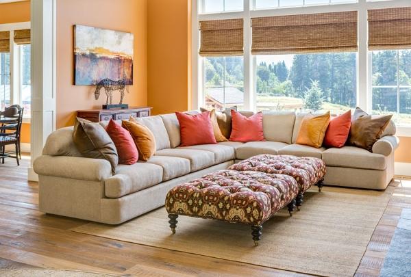 Castellano Furniture Sectional Sofa Custom Built in Portland